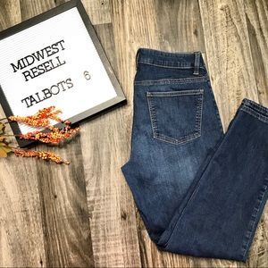 Talbots Curvy Ankle Jeans -6